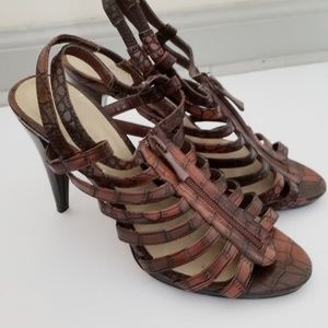 Ann Marino Gladiator Style Heels